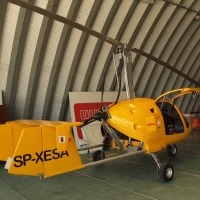 Helicopter Ultralight airplane